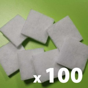 Lot de 100 Filtres interchangeables et lavables pour masque Breath'Protect